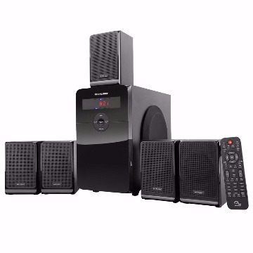 CAIXA DE SOM 5.1 HOME THEATER 80W RMS (05)