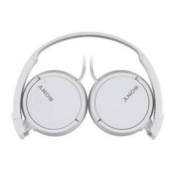 HEADPHONE SONY MDR-ZX110/WCAE BRANCO