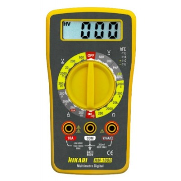 MULTIMETRO HIKARI HM1000 DIGITAL AM/CZ