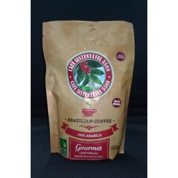 CAFÉ TORRADO E MOÍDO GOURMET P/ PRENSA FRANCESA SUSTENTÁVEL 5588 - 500gr