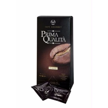 CAFÉ TORRADO E MOÍDO GOURMET PRIMA QUALITA EM SACHE E.S.E. C/20 140G