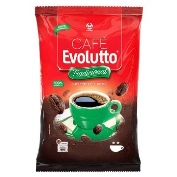 CAFÉ TORRADO E MOÍDO 100% ARÁBICA EVOLUTTO TRADICIONAL 250 G