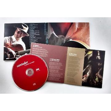 CD ´´Cantador´´ - Cláudio Lacerda