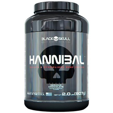 HANNIBAL - 900g - Chocolate - Black Skull