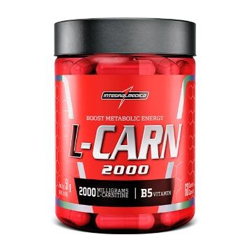 L-CARN Carnitina - 60 caps - IntegralMedica