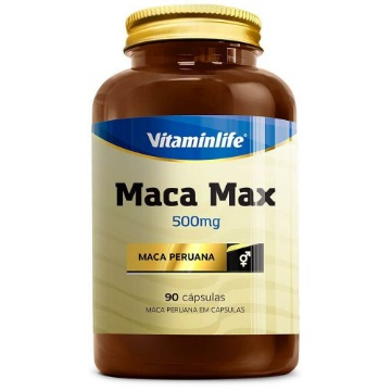 MACA MAX - 90 capsulas - Vitaminlife
