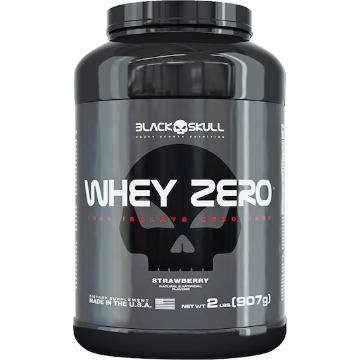 Whey ZERO - 900g - Baunilha - Black Skull