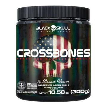 CROSSBONES - 300g - Aggressive Green Apple (maça verde) - Black Skull