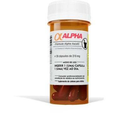 ALPHA AXCELL cafeina - 30caps - Sanibras
