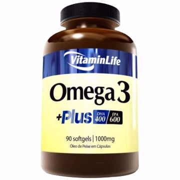 OMEGA 3 PLUS - 90caps - Vitaminlife