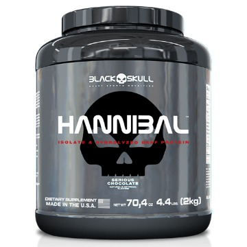 HANNIBAL - 2kg - Chocolate - Black Skull