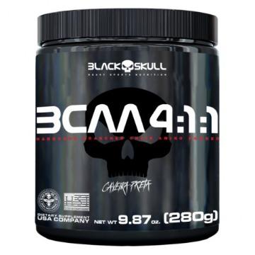 BCAA 4:1:1 - 280g - Limão - Caveira Preta - Black Skull