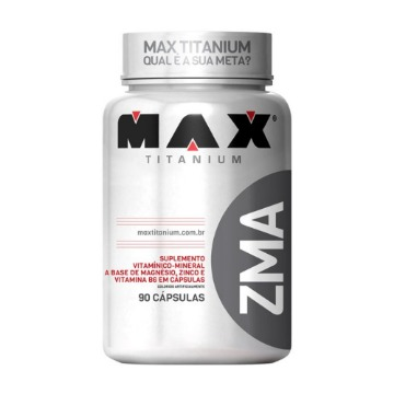 ZMA Max - 90caps - Max Titanium