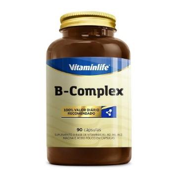 B Complex (Complexo B) - 90 capsulas - Vitaminlife