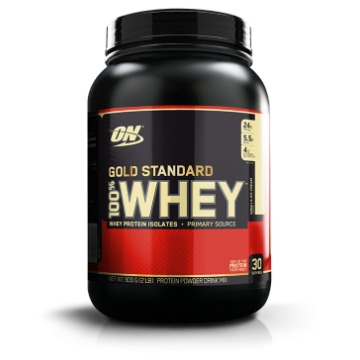 Whey Gold Standard - 900g - Morango - Optimum