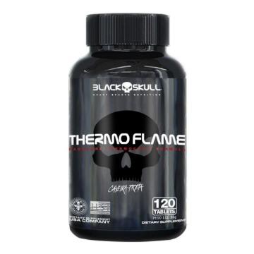 Thermo Flame - 120 Tabs - Caveira Preta - Black Skull