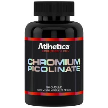 Chromium Picolinate (Cromo) - 120 caps - Atlhetica