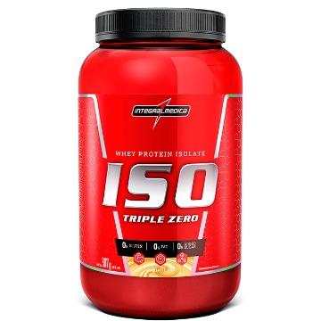 ISO Triple Zero - 900g - Morango - IntegralMedica