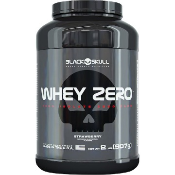 Whey ZERO - 900g - Morango - Black Skull