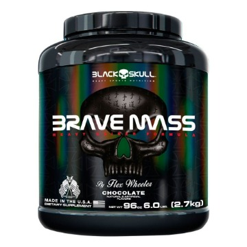 BRAVE MASS - 2,7Kg - Chocolate - Black Skull