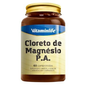 Cloreto de Magnesio PA - 60 comprimidos - Vitaminlife