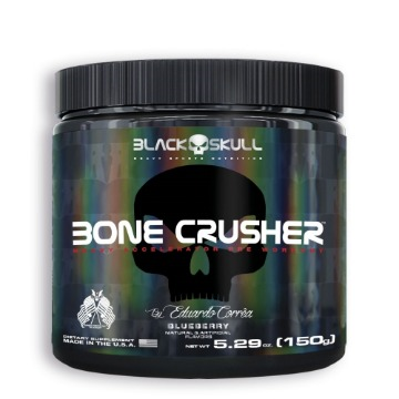 BONE CRUSHER - 150g - Blueberry - Black Skull