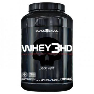 Whey 3HD - 900g - Chocolate - Caveira Preta - Black Skull