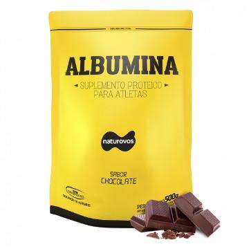 Albumina - 500g - Chocolate - Naturovos