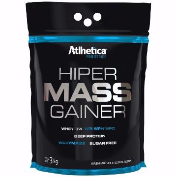 HIPER MASS GAINER - 3Kg - Baunilha - Atlhetica
