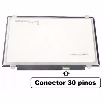 TELA 14.0 LED SLIM ( 30 PINOS )  - 1366x768