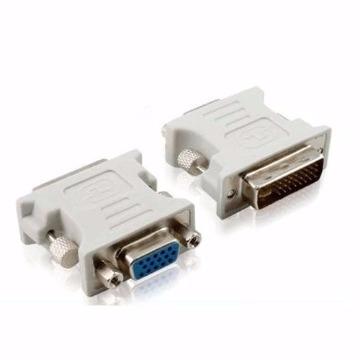 ADAPTADOR DVI24+5M P/ VGA Fêmea