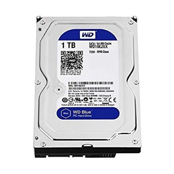 HD Interno 1TB 7.2RPM Serial SATA 3 Blue WD10EZEX
