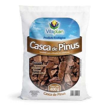 CASCA DE PINUS NUTRIPLAN - 400G - PARA COBERTURA