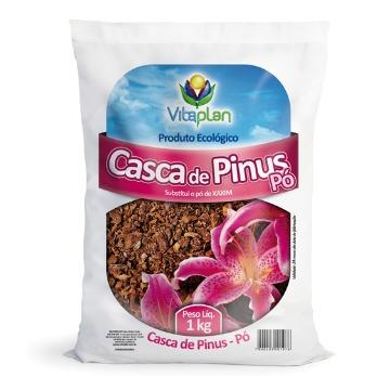CASCA DE PINUS (PÓ) NUTRIPLAN 1KG