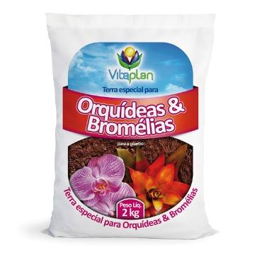 SUBSTRATO ORQUIDEAS/BROMELIAS 2KG NUTRIPLAN
