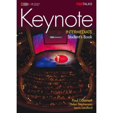 Keynote Intermediate - Students book  with DVD-ROM