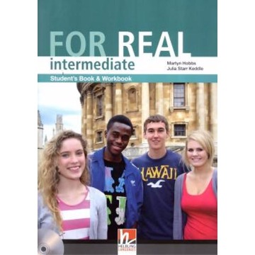 For Real - Intermediate Student´s Book And Workbook (+ CD-ROM)