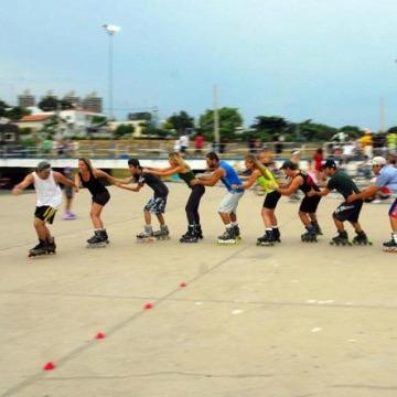 Aulas de patinação nível iniciante