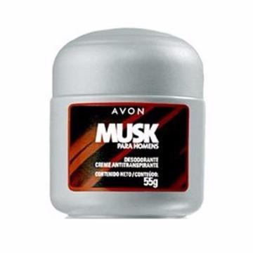 Musk para Homens Desodorante Creme 55g