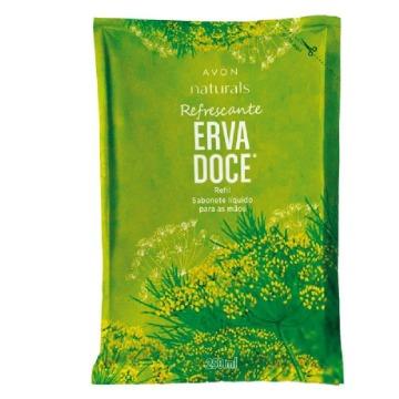 Refil Naturals Sabonete Líquido para Mãos Erva Doce 250ml