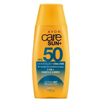 Avon Care Sun+ Protetor Solar 2 em 1 FPS 50 - 120g