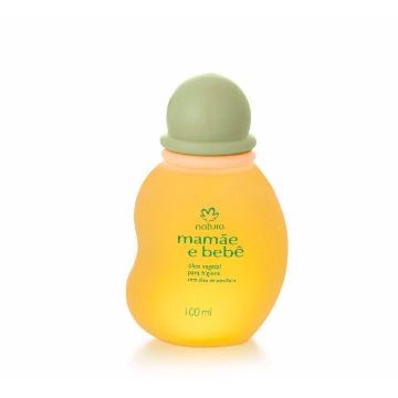 Óleo Vegetal para Higiene Mamãe e Bebê - 100ml