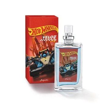 Colônia Jequiti Hot Wheels Veloz, 25ml