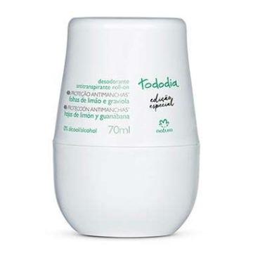 Tododia Desodorante Roll-on Folhas de Limão e Graviola