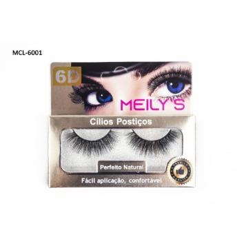 Cílios Postiços 6D Meily's MCL-6001