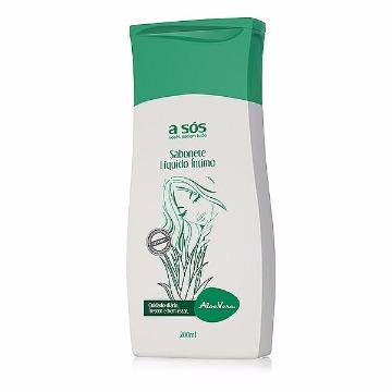 Sabonete Líquido Íntimo Aloe Vera 200ml