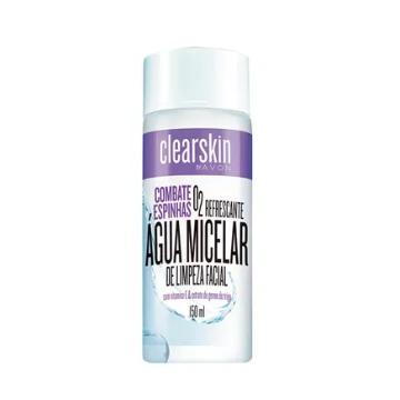 Clearskin Água Micelar de Limpeza Facial 150ml