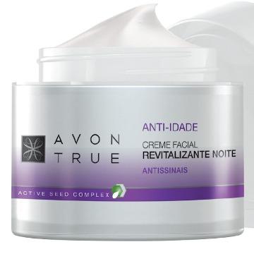 Avon True Creme Facial Revitalizante Noite 50g