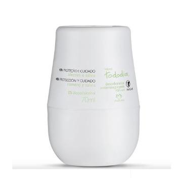 Desodorante Roll-on Natura Tododia Alecrim e Salvia