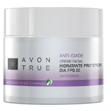 Avon True Creme Facial Hidratante Protetor Dia 50g